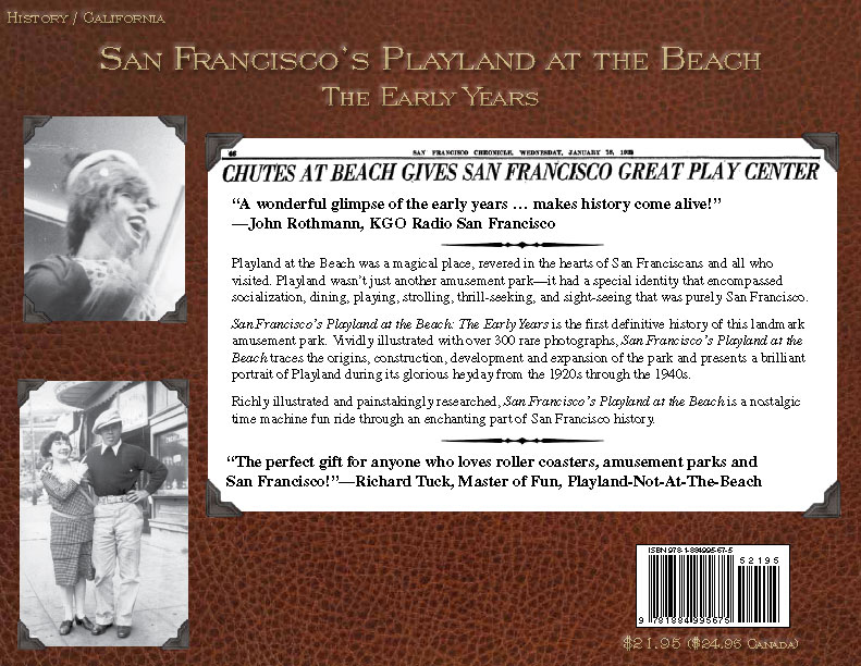 San Francisco's Playland at the Beach - The Early Years
